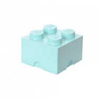 LEGO Brick 4 Storage, Aufbewahrungsbox, aqua