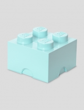 LEGO Storage Brick 4, Aufbewahrungsbox, aqua