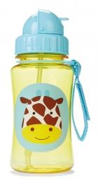 Die Zoo Strohhalm-Flasche von Skip Hop, Giraffe