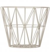 Ferm Living Wire Basket - Grau, mittel