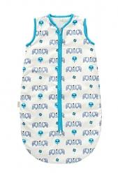 Schlafsack von Fresk, Elefanten, blau 0-6 M