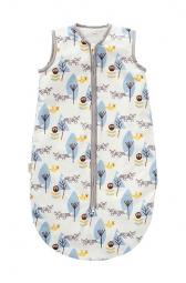 Schlafsack von Fresk, Füchse, blau 0-6 M