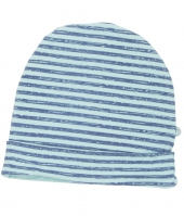 Minymo Mütze, Streifen/ blau