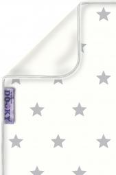 Dooky Kinderwagen-Decke, Silver Stars