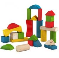 BRIO Bunte Holzbausteine, 25 Teile