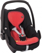AeroMoov Air Layer, Sommer-Sitzeinlage für Kindersitz Gr. 0+ - red