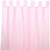 Sugarapple Vorhang 2er Pack, Karo Rosa