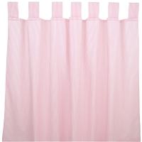 Sugarapple Vorhang 2er Pack, Streifen Rosa