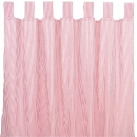 Sugarapple Vorhang 2er Pack, Streifen Rot