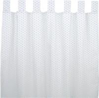Sugarapple Vorhang 2er Pack, Streifen Türkis