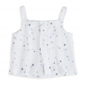 Aden Anais Blouse (Smock Top), 0-3 Monate Night Sky - Starburst