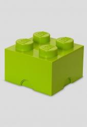 LEGO Storage Brick 4, Aufbewahrungsbox, hellgrün