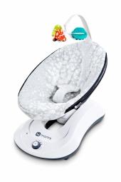 4moms rockaRoo Babyschaukel Plush Silver