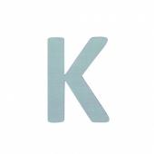 Sebra Deko-Buchstaben K, Dusty Mint
