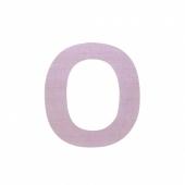 Sebra Deko-Buchstaben O, Dusty Rose