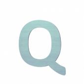 Sebra Deko-Buchstaben Q, Dusty Mint