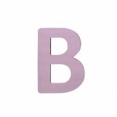 Sebra Deko-Buchstaben B, Dusty Rose
