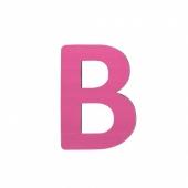 Sebra Deko-Buchstaben B, Pink