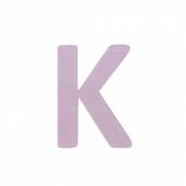 Sebra Deko-Buchstaben K, Dusty Rose