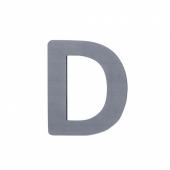 Sebra Deko-Buchstaben D, Grau