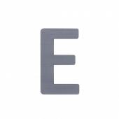 Sebra Deko-Buchstaben E, Grau