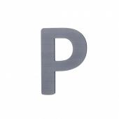 Sebra Deko-Buchstaben P, Grau