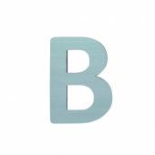 Sebra Deko-Buchstaben B, Dusty Mint