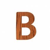 Sebra Deko-Buchstaben B, Natur