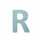 Sebra Deko-Buchstaben R, Dusty Mint