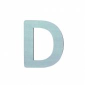 Sebra Deko-Buchstaben D, Dusty Mint