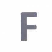 Sebra Deko-Buchstaben F, Grau