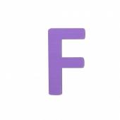 Sebra Deko-Buchstaben F, Lilac