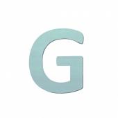 Sebra Deko-Buchstaben G, Dusty Mint