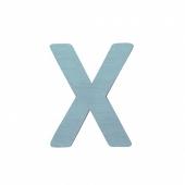 Sebra Deko-Buchstaben X, Dusty Mint