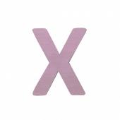 Sebra Deko-Buchstaben X, Dusty Rose