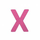 Sebra Deko-Buchstaben X, Pink