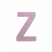 Sebra Deko-Buchstaben Z, Dusty Rose