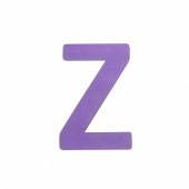 Sebra Deko-Buchstaben Z, Lilac
