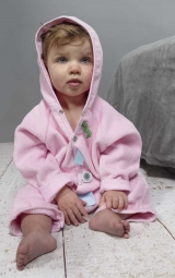 Snoozebaby Badeanzug, Grösse 74-86, Powder Pink