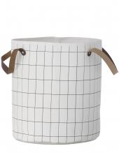 Wäschekorb von ferm living, Grid, klein