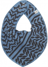 Pippi Halstuch, Blau/ Print