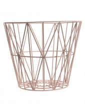 Ferm Living Wire Basket - Rose, gross