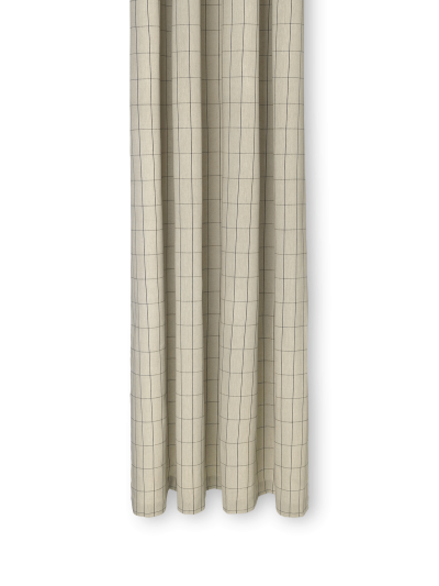 Ferm Living Duschvorhang, Grid
