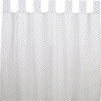 Sugarapple Vorhang 2er Pack, Sterne Grau