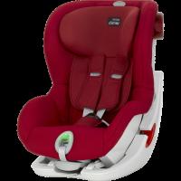 Britax Römer King II ATS Autositz, Flame Red 2018