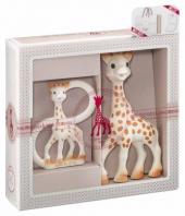 Geschenkset Sophie La Giraffe, Giraffe + Beissring