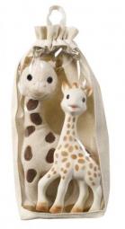 Set Plüschsophie + Sophie la girafe
