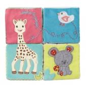 Entdeckungswürfel Sophie la girafe im Geschenkkarton