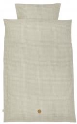 Ferm Living Bettwäsche, Adult (140x200), Grey Cross