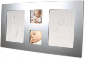 Hand & Fußabdruckset Happy Hands - grosser Rahmen